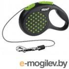 Поводок-рулетка Flexi Design 12174 (S, зеленый)