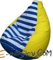 Flagman Груша Мега (желтый в полоску, оксфорд)