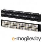 Патч-панель TWT (TWT-PP48UTP) 48 портов. UTP. кат.5E. 2U