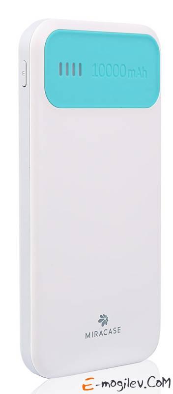 Miracase MACC871 10000mAh 2.1A белый/зеленый
