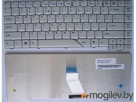 Клавиатура для ноутбука Acer 4230, 4330, 4430 белая