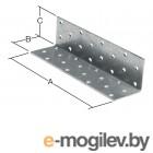 STARFIX  равносторонний 100х100x100 мм KUR белый цинк (Толщина 2 мм)