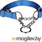 Строгий ошейник Trixie Premium 20292 (L-XL, синий)