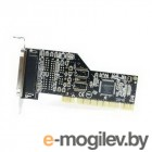 Контроллер 1P PCI Multi I/O card, 1 Parallel IEEE1284 Port, Low Profile (PMIO-V1L-0001P) OEM {100}