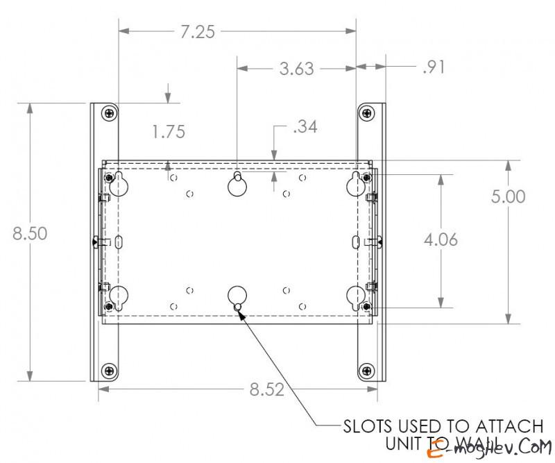 """iC SP-TM1t для ТВ 10""""-32"""" выносной 1 ст. наклон до 20 кг титаниум"""