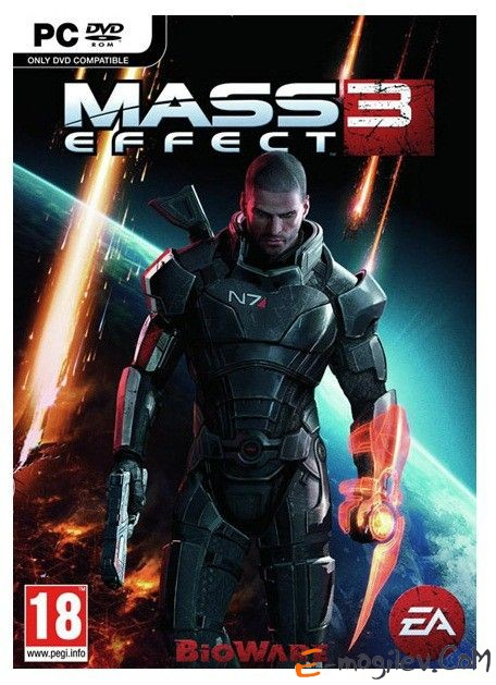 Игра PC Mass Effect 3 rus sub (31910)