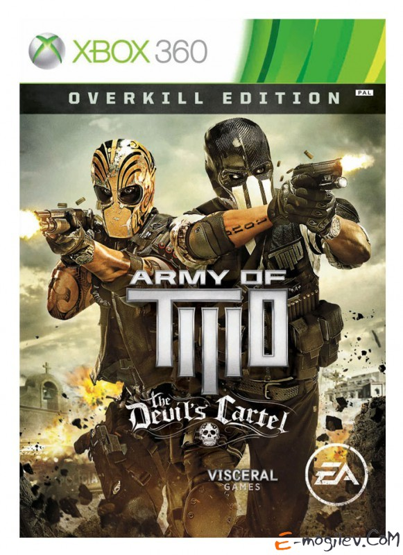 Xbox360 Microsoft Army of Two: The Devil's Cartel английская версия (RUS)