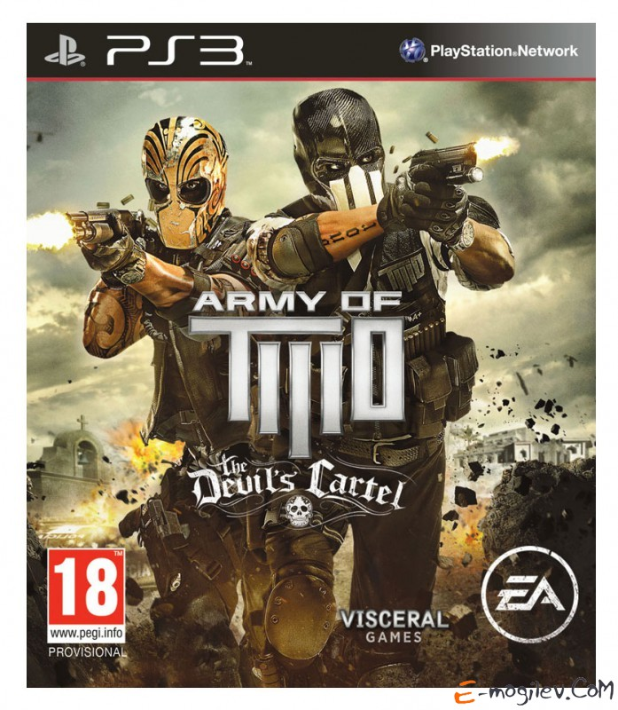 PS3 Sony Army of Two: The Devil's Cartel английская версия (RUS)