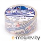 Скотч  Клейкая лента упаковочная UNIBOB 600 48мм*66м, 45 мкр кристально-чистая