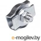 Зажим для стальных канатов одинарный 6 мм simplex STARFIX (SMP-88674-1)
