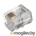 Коннектор Proconnect (05-1012-3) Джек телефонный  6P4C (100 шт.)