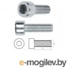 Винт М6х50 мм с внутр. шестигр., цинк, кл.пр. 8.8, DIN 912 (50 шт в карт. уп.) STARFIX (SMC1-31754-50)