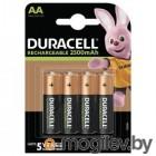 Аккумулятор Duracell HR6 AA (4шт. уп)