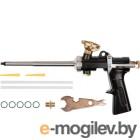 Пистолеты (Скотчи, пленки) KRAFTOOL PRO  06853 Пистолет { для монтажной пены, цельнометаллический }