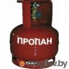 Баллон газовый стальной с вентилем баллонным Крым, 18 л