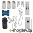 Большой комплект Proove TSP110 (1 Адаптер сети (TellStick net); 2 Стенные розетки вкл/выкл  1000 Вт; 1 Розетка переключатель вкл/выкл, 40-300 Вт; 1 розетка IP44 вкл/выкл 3680 Вт, 1 датчик температуры и влажности, пульт ДУ)