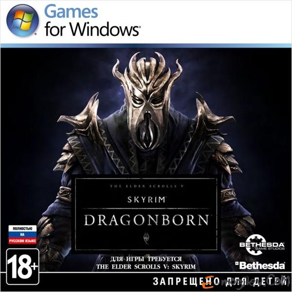 The Elder Scrolls V: Skyrim – Дополнение «Dragonborn» (код загрузки) русская версия (RUS)