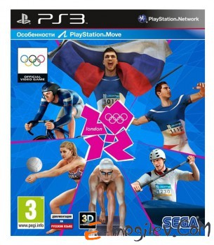 Игра Sony PlayStation 3 London 2012 (PS Move) rus doc