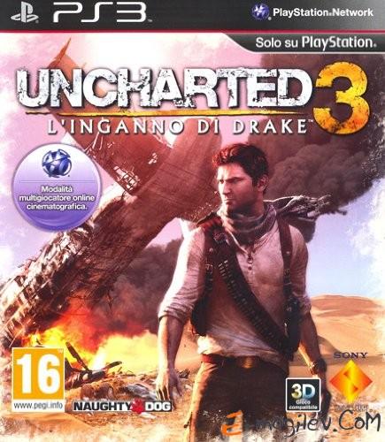 Sony PlayStation 3 Uncharted 3. Иллюзии Дрейка (3D) rus (29872)