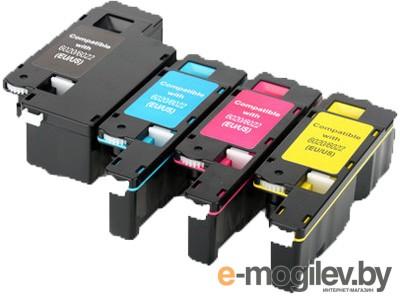 Картридж Hi-Black для Xerox Phaser 6020/6022/ WC 6025/6027  106R02762, Y, 1К
