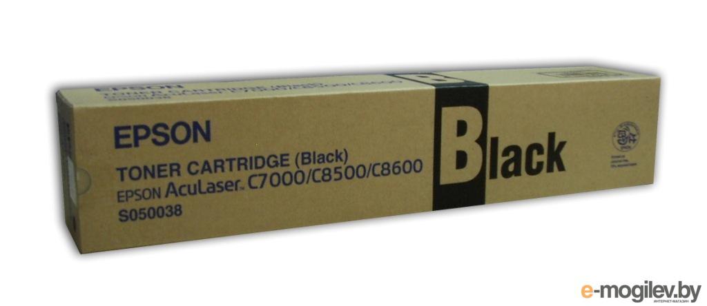 Тонер Картридж Epson C13S050038 black для AcuLaser C8500