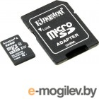 Kingston SDC10G2/32GB microSDHC Memory Card 32Gb UHS-I U1 Class10  + microSD-->SD Adapter