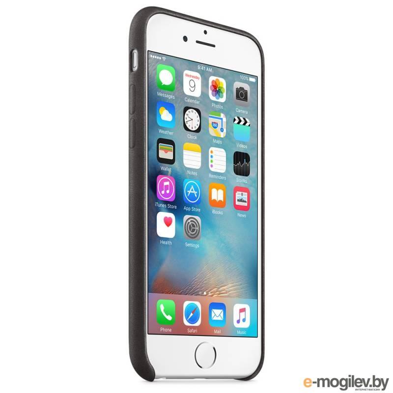 Чехол (клип-кейс) Apple для Apple iPhone 6S MKXW2ZM/A черный (MKXW2ZM/A)