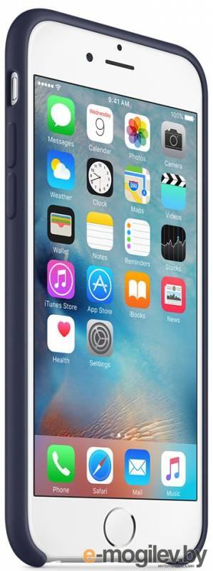 Чехол (клип-кейс) Apple для Apple iPhone 6S Plus MKXL2ZM/A темно-синий (MKXL2ZM/A)