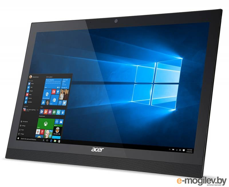 Моноблок Acer Aspire Z1-622 21.5 Full HD Cel N3150D/2Gb/500Gb/HDG/Free DOS/WiFi/BT/клавиатура/мышь 1920x1080