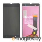 дисплей в сборе с тачскрином для Sony Xperia Z C6603, черный