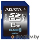 A-Data SDHC 8Gb Class10 ASDH8GUICL10-R Ultra speed