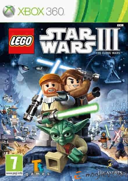 Xbox360 Microsoft LEGO Star Wars III: the Clone Wars (Classics) русская документация