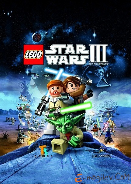 Игра для PS3 Sony LEGO Star Wars III: the Clone Wars русская документация