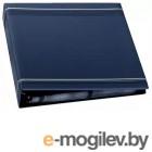 Визитница  Durable на 400 карт PVC темно-синяя
