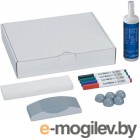 Набор Hebel Maul для досок Accessory Set 4 маркера 5 магнитов стиратель салфетки спрей-очиститель