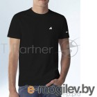 Футболка Hi-Black черная с лого (XL)