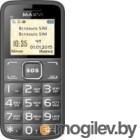 Мобильный телефон Maxvi B2 (серый)
