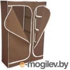 Тканевый шкаф Sheffilton 2016 (темно-коричневый)