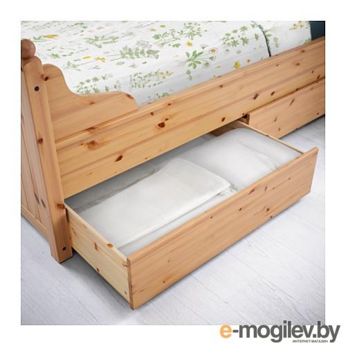 Каркас кровати с 4 ящиками ГУРДАЛЬ