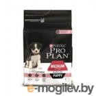 Pro Plan Puppy Medium Sensitive Skin 3 кг