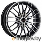Borbet 8.0X17 5/120 ET35 D72.5 CW 4 black polished matt литой