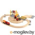 Железная дорога Brio Rail & Road Crane Set 33208