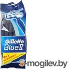 Gillette Blue II с увлажняющей полоской 10шт