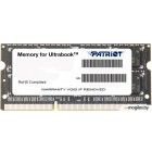 8GB PC-12800 DDR3-1600 Patriot PSD38G1600L2S (SODIMM)