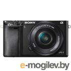 Цифр. фотоаппарат Sony [ILCE-6000B] <Black>; 24.3Mpix, 6000x4000