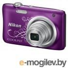 Nikon CoolPix A100 фиолетовый/рисунок