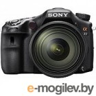 Цифр. фотоаппарат Sony [SLT-A77M2Q] <Black>; 16-50mm KIT, 24.3Mpix, WiFi