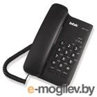 Проводной телефон BBK BKT-74 (черный)