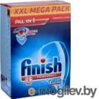 Cредство для мытья посуды в посудомоечных машинах в таблетках Finish PowerBall All in 1 100шт