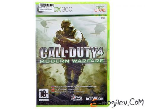 Xbox360 Microsoft Call of Duty 4. Modern Warfare (Classics) [ русская документация]